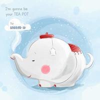 Tea Pot Elephant