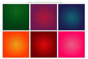 Minimal colorful curved line gradient covers
