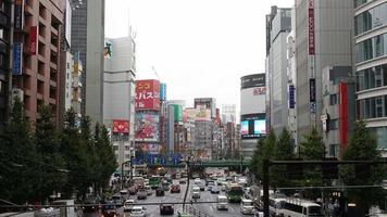 shinjuku tokio japón timelapse video