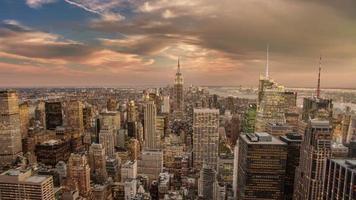 ciudad de nueva york día a noche