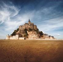 Mont saint Michel in Normandy, France photo