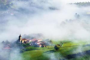 Uribarri village in Aramaio valley photo
