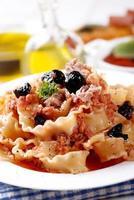 Italian Fusilli pasta with tuna