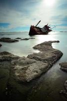 Boat capsized photo