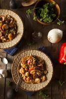 Homemade Shrimp and Sausage Cajun Gumbo photo