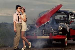 Vintage couple. photo