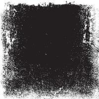 Detailed grunge border background vector