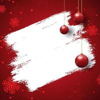 Grunge christmas background vector
