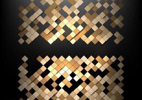 Geometric squares design vector