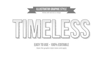 White Uppercase Typography with Dotted Stiples Shadow vector