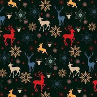Christmas Reindeer Pattern Design