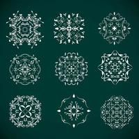 Decoration Elements Collection vector