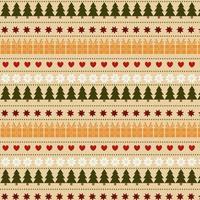 Christmas Symbols Pattern Design