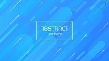 Fondo de líneas azules diagonales abstractas modernas vector