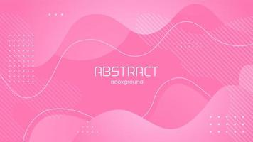 Modern Liquid Pink Abstract Background vector