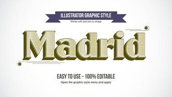 Elegant Retro Decoration Pattern Text Style vector