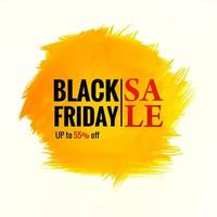 Grunge splash Black Friday sale background
