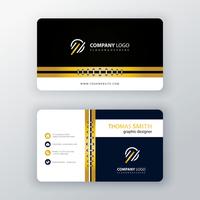 Elegant corporate card template