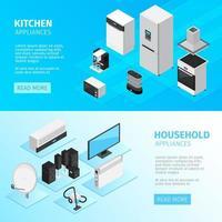 Household Appliances Banner vector