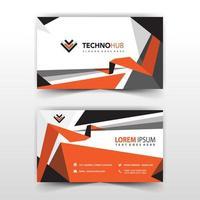 New modern business card template vector