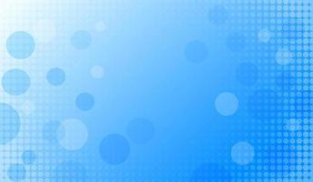 Abstract blue circle halftone background vector