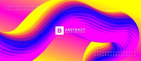 Gradient Geometric Shape Abstract Liquid Background