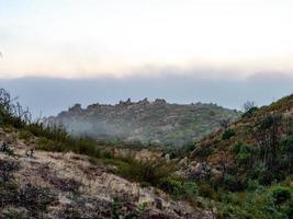 Clouds on Atlas Peak photo