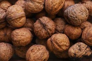 Close up of walnuts