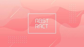 Modern Soft Pink Dynamic Abstract Background vector