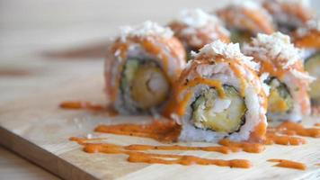 sushi de alta definición video