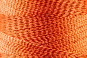 hilo de algodón natural foto
