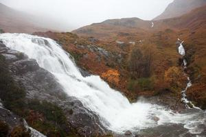 Scotland - Glencoe waterfall