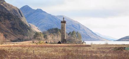Jacobite Monument Scotland