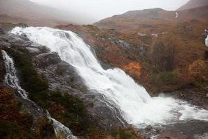 Escocia - Cascada de Glencoe