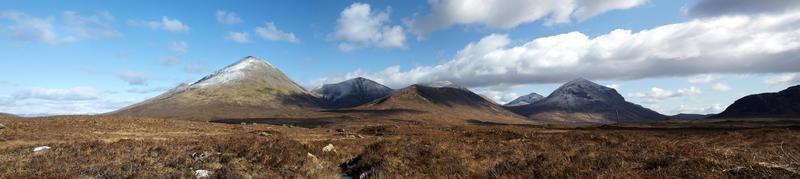 The Red Cuillin Mountains, Isle of Skye, Scotland