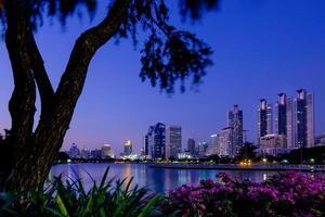 Benchakitti Park, Bangkok, Thailand