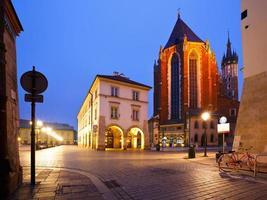 Square in Krakow. photo