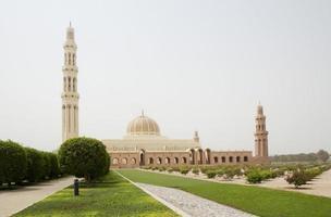 Oman. Great mosque of Sultan Qaboos.