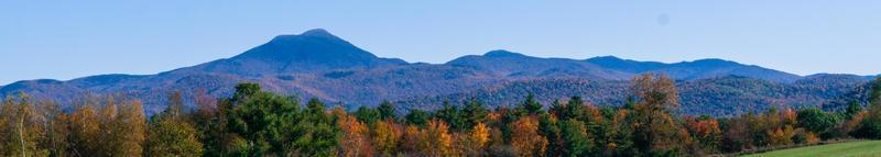 banner picture of the Green Mountains of Vermont in Fall photo