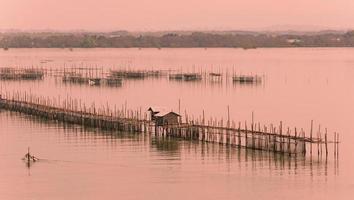 Fishing village, Thailand.