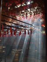 Temple in Hong Kong photo
