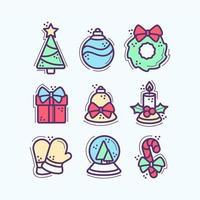 Christmas Essentials Icon Set