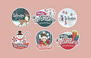 Happiness in The Winter Wonderland