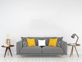 Living room 3D rendered background