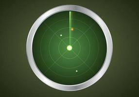 diseño de estilo de vector de radar