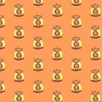 Cute monkey pattern