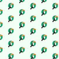 Cute horn bills pattern