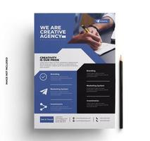 Company Flyer Print Ready Template