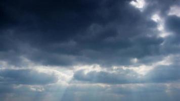 nubes de lapso de tiempo.