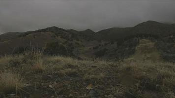 tempesta di montagna video
